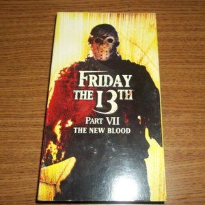 FRIDAY THE 13TH 7 THE NEW BLOOD VHS